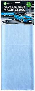 Салфетка микрофибра для стекла Magic Glass 40*50 (